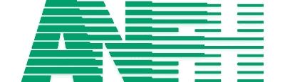 Logo ANFH : association nationale pour la formation permanente du personnel hospitalier. Lien vers le site de l'ANFH